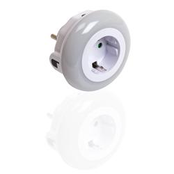 Ultron 185959 - Stecker-Nachtlicht - Weiß - IP20 - 82 mm - 82 mm - 72,5 mm