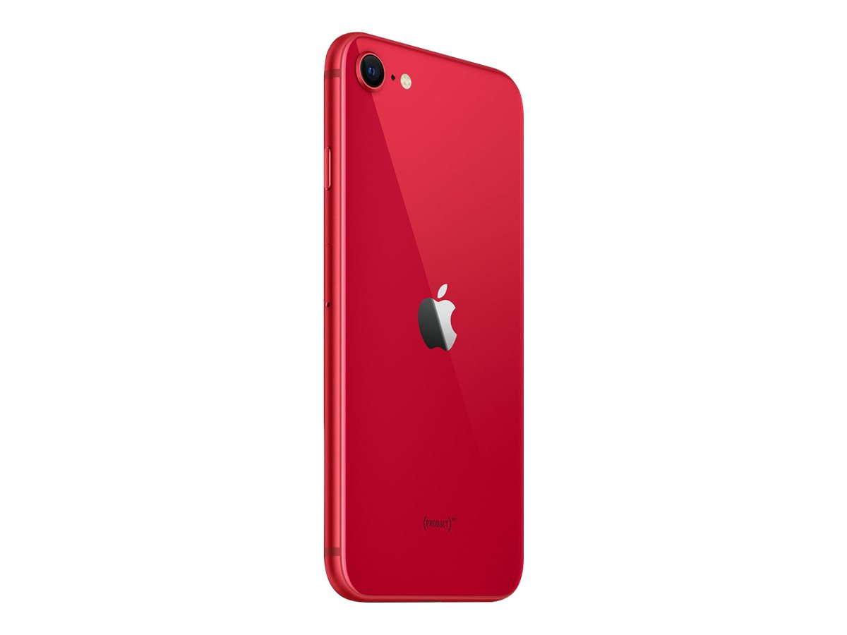 "Apple iPhone SE (2. Generation) - (PRODUCT) RED - Smartphone - Dual-SIM - 4G Gigabit Class LTE - 128 GB - GSM - 4.7"" - 1334 x 750 Pixel (326 ppi (Pixel pro Zoll))"