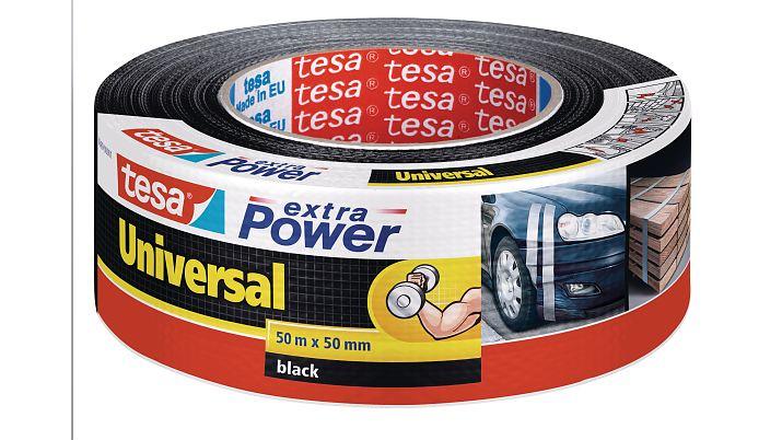 Tesa 56389-00001-05 - Schwarz - Bündelung - Befestigung - Handwerk - Kennzeichnung - Reparatur - Verstärkung - 50 m - 50 mm