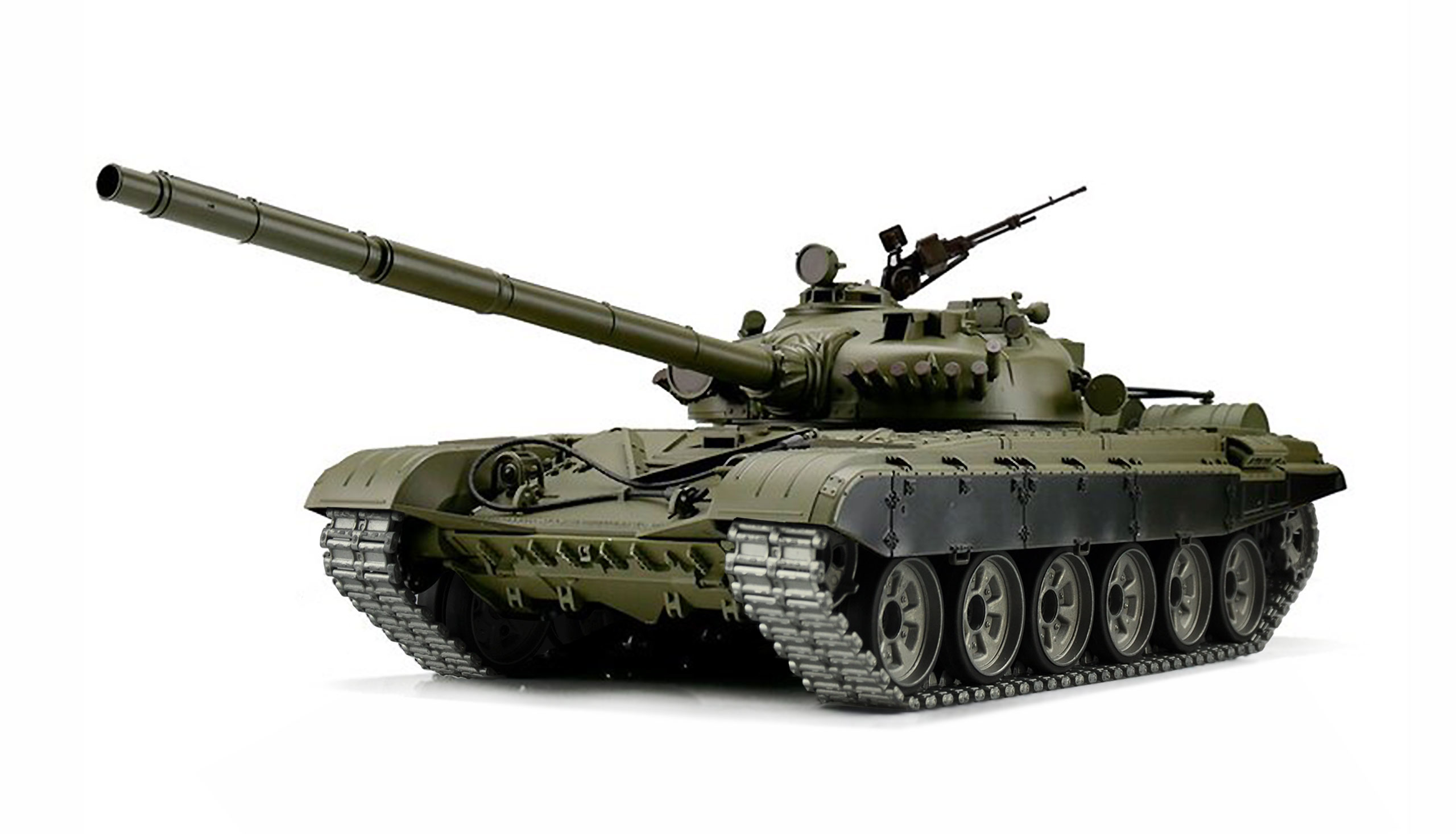 Amewi T-72 - Funkgesteuerter (RC) Panzer - Elektromotor - 1:16 - Betriebsbereit (RTR) - Junge - 14 Jahr(e)