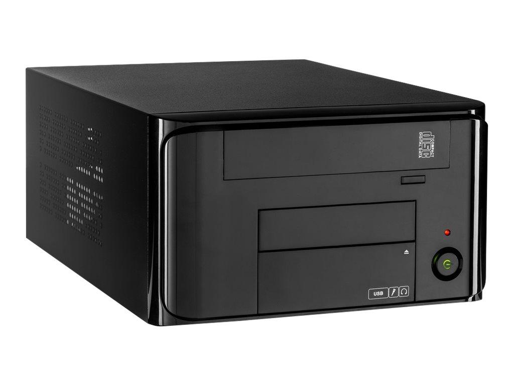 Inter-Tech MI-008 ITX - USFF - Mini-ITX - ohne Netzteil (SFX12V)