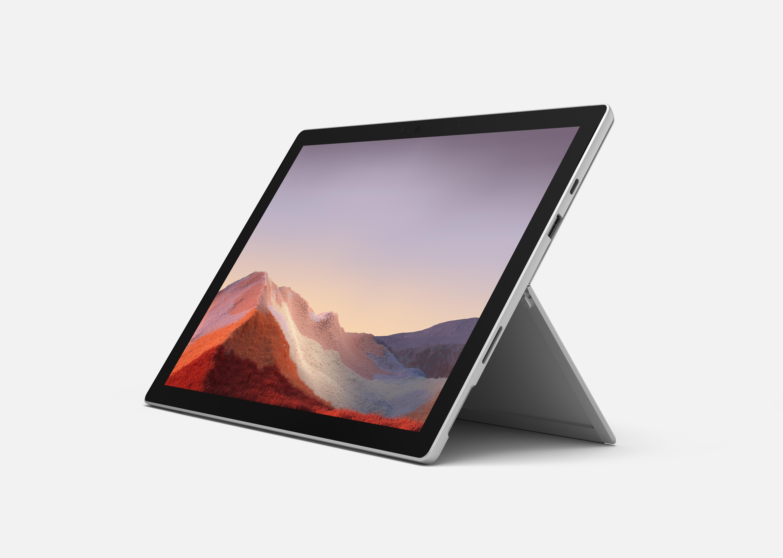Microsoft Surface Pro 7 128GB mit i5 & 8GB - platin - Core i5 - 128 GB