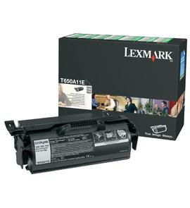 Lexmark T650A11E Laser cartridge 7000Seiten Schwarz Lasertoner / Patrone