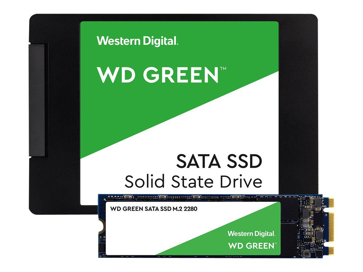 """WD Green SSD WDS200T2G0A - 2 TB SSD - intern - 2.5"""" (6.4 cm)"""