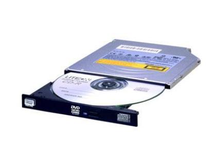 Lite-On DU-8AESH - Schwarz - Vorderseite - Senkrecht - Notebook - DVD±RW - SATA