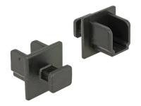 64010 Schwarz 10Stück(e) Steckdosensicherung