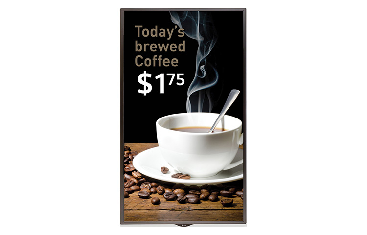 LG 43SE3B Digital signage flat panel 43Zoll LED Full HD Schwarz Signage-Display