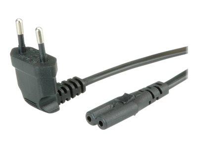 Stromkabel - Eurostecker (M) bis IEC 60320 C7
