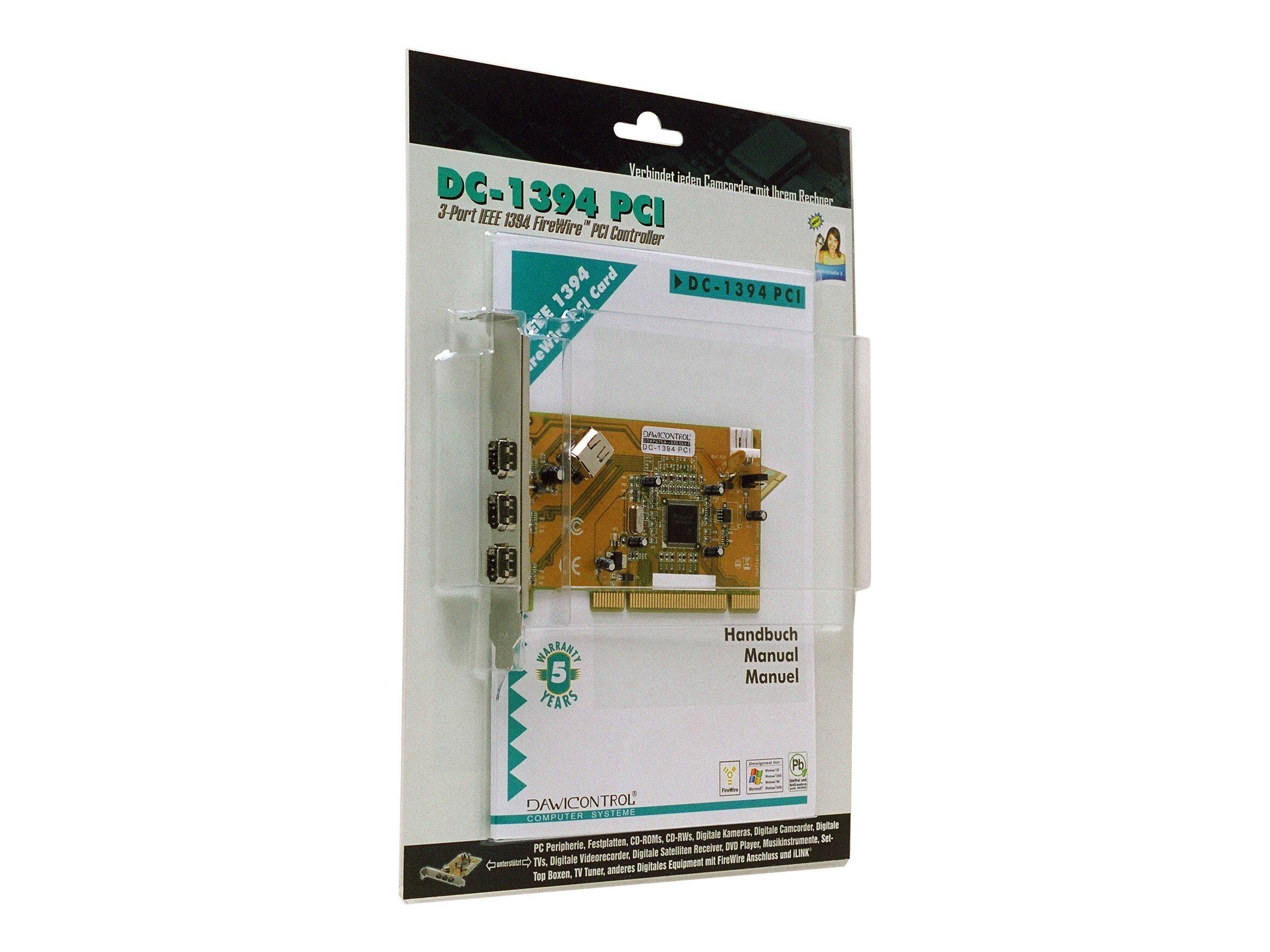Dawicontrol DC-1394 PCI - Videoaufnahmeadapter
