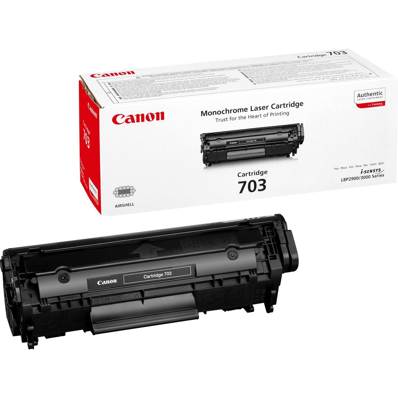 Canon 703 Laser cartridge 2000Seiten Schwarz