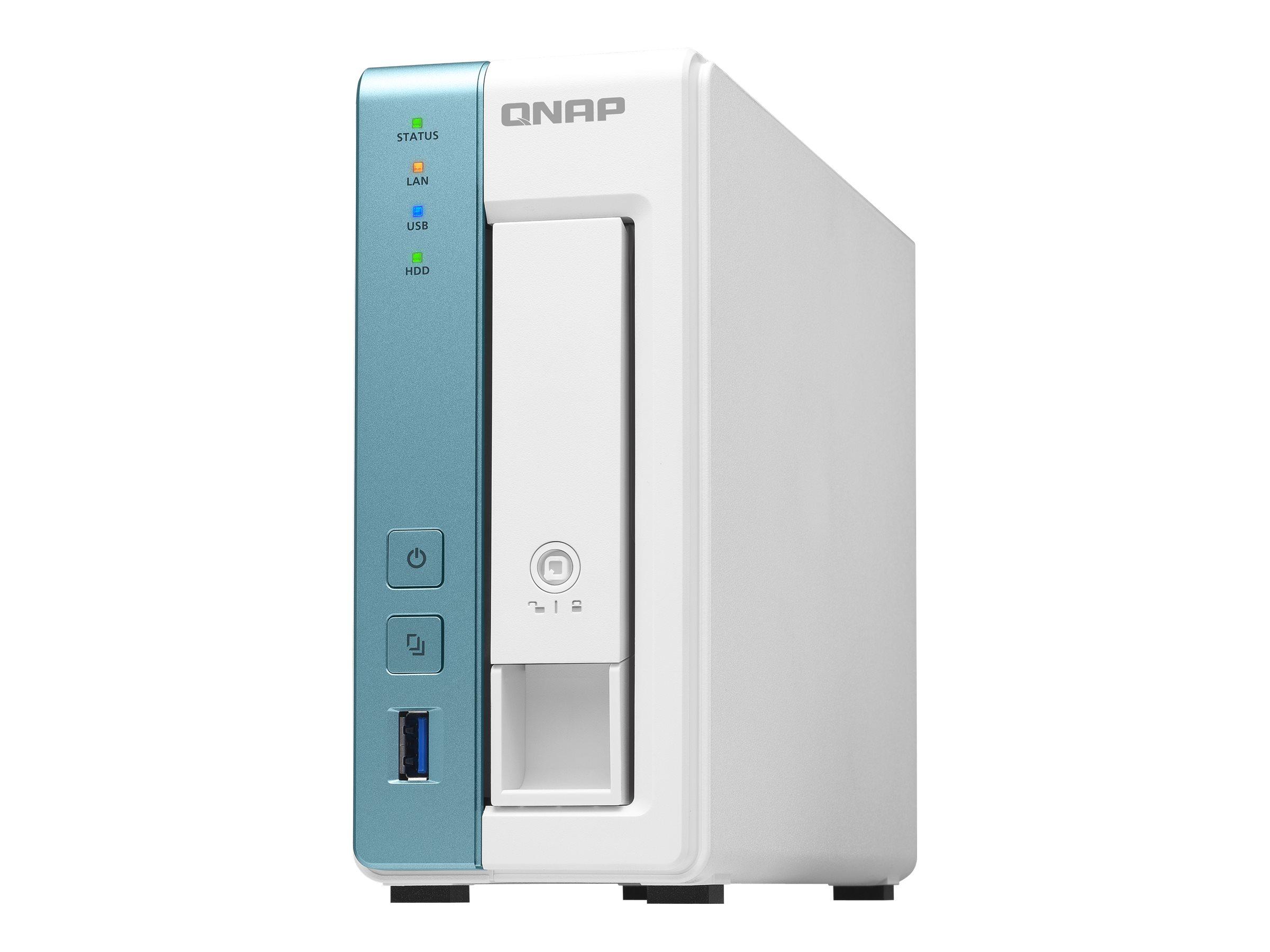QNAP TS-131K - NAS-Server - SATA 6Gb/s - RAM 1 GB