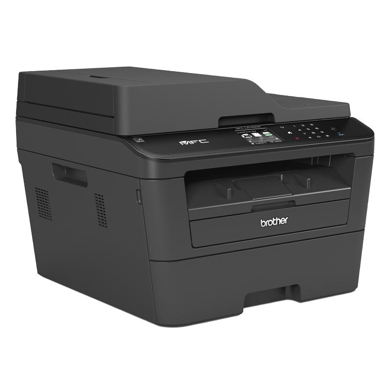 Brother MFC-L2740DW MFP A4 mono laser 30ppm print scan copy fax 250Blatt Papierkassette - Fax - Laser/LED-Druck