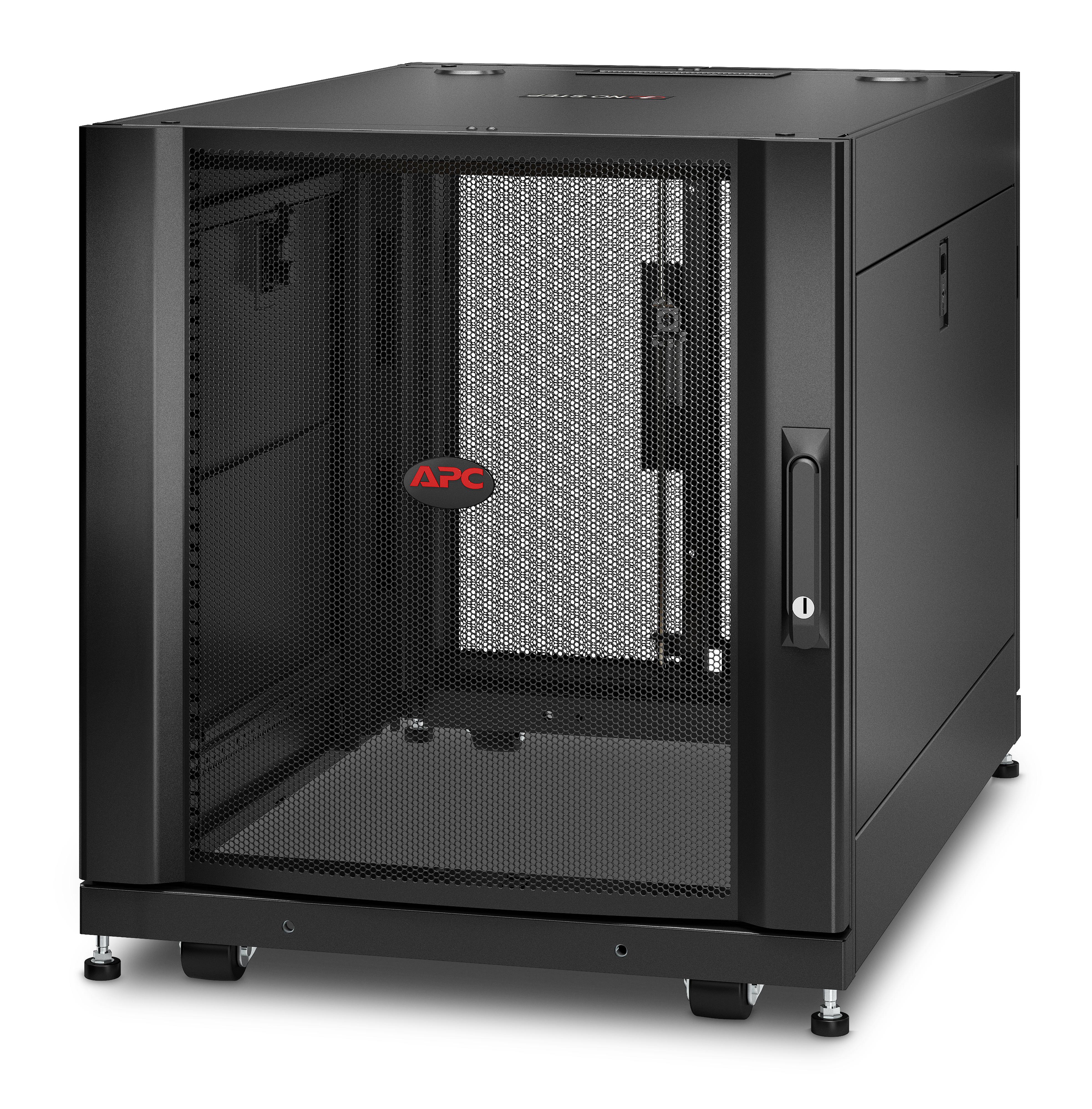 APC NetShelter SX - 12U - Freistehendes Gestell - 272 kg - Schwarz - IP20 - UL 2416 - UL 60950-1 - REACH