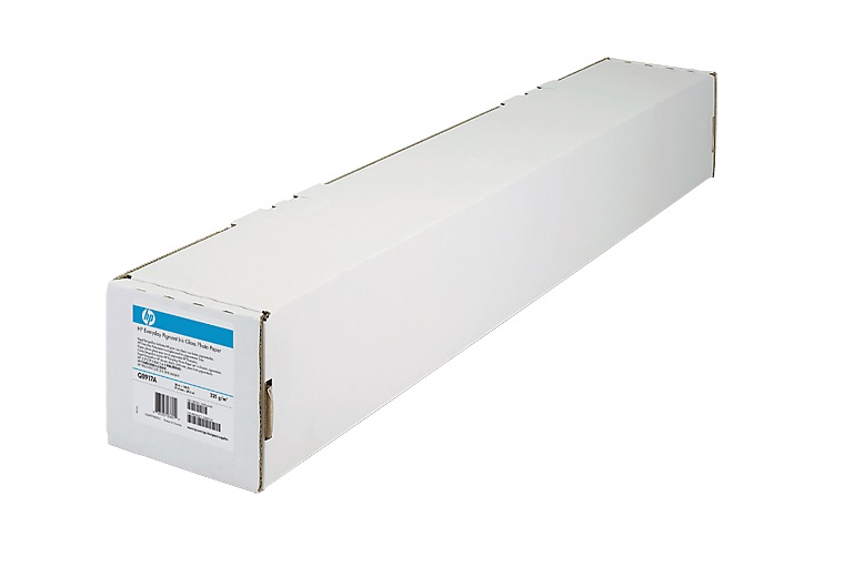 HP Clear Film 174 gsm-610 mm x 22.9 m (24 in x 75 ft) Transparentfolie