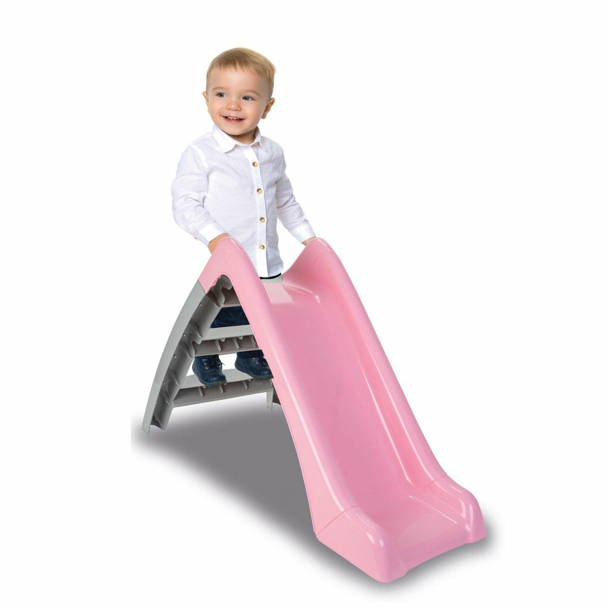 JAMARA Rutsche Happy Slide pastellrosa 1+