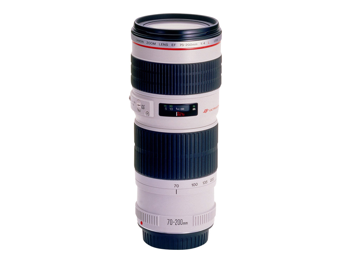 Canon EF - Telezoomobjektiv - 70 mm - 200 mm