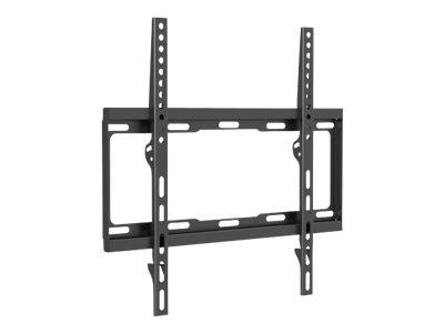 """Manhattan TV & Monitor Mount, Wall, Fixed, 1 screen, Screen Sizes: 32-55"""", Black, VESA 200x200 to 400x400mm, Max 40kg, LFD, Lifetime Warranty - Klammer - für Flachbildschirm - stabiler Stahl - Bildschirmgröße: 81.3-139.7 cm (32""""-55"""")"""