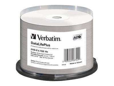 Verbatim DataLifePlus Professional - 50 x DVD-R
