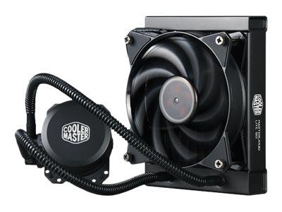 Cooler Master MasterLiquid Lite 120 - Prozessor-Flüssigkeitskühlsystem - (für: LGA775, LGA1156, AM2, AM2+, LGA1366, AM3, LGA1155, AM3+, LGA2011, FM1, FM2, LGA1150, FM2+, LGA2011-3, LGA1151, AM4)
