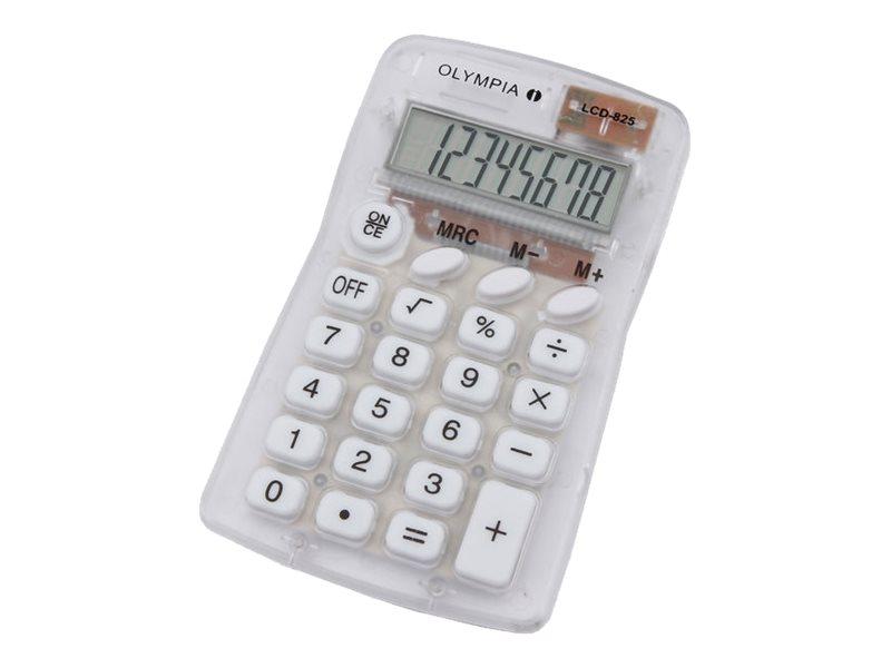 Olympia LCD 825 - Taschenrechner - 8 Stellen