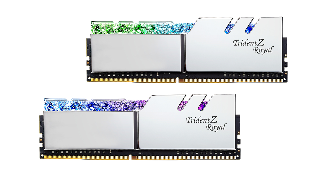 G.Skill Trident Z Royal Series - DDR4 - 128 GB: 4 32 GB
