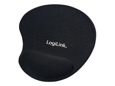 LogiLink Mauspad mit Handgelenkpolsterkissen
