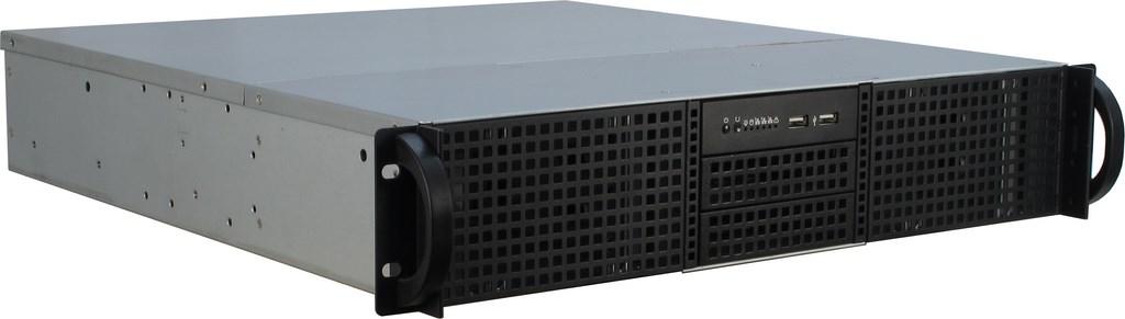 Inter-Tech IPC 2U-20248 - Rack - Server - Stahl - Schwarz - ATX,Micro ATX,Mini-ITX - Festplatte - Netzwerk - Leistung