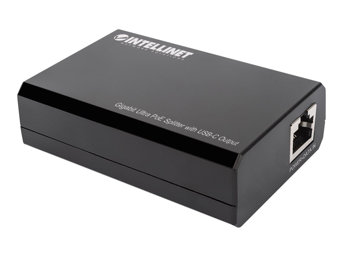 Vorschau: IC Intracom Intellinet - PoE-Splitter - 45 Watt - Ausgangsanschlüsse: