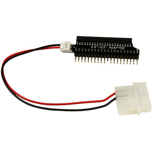 StarTech.com 2,5 Zoll auf 3,5 Zoll IDE Festplattenkabel Adapter