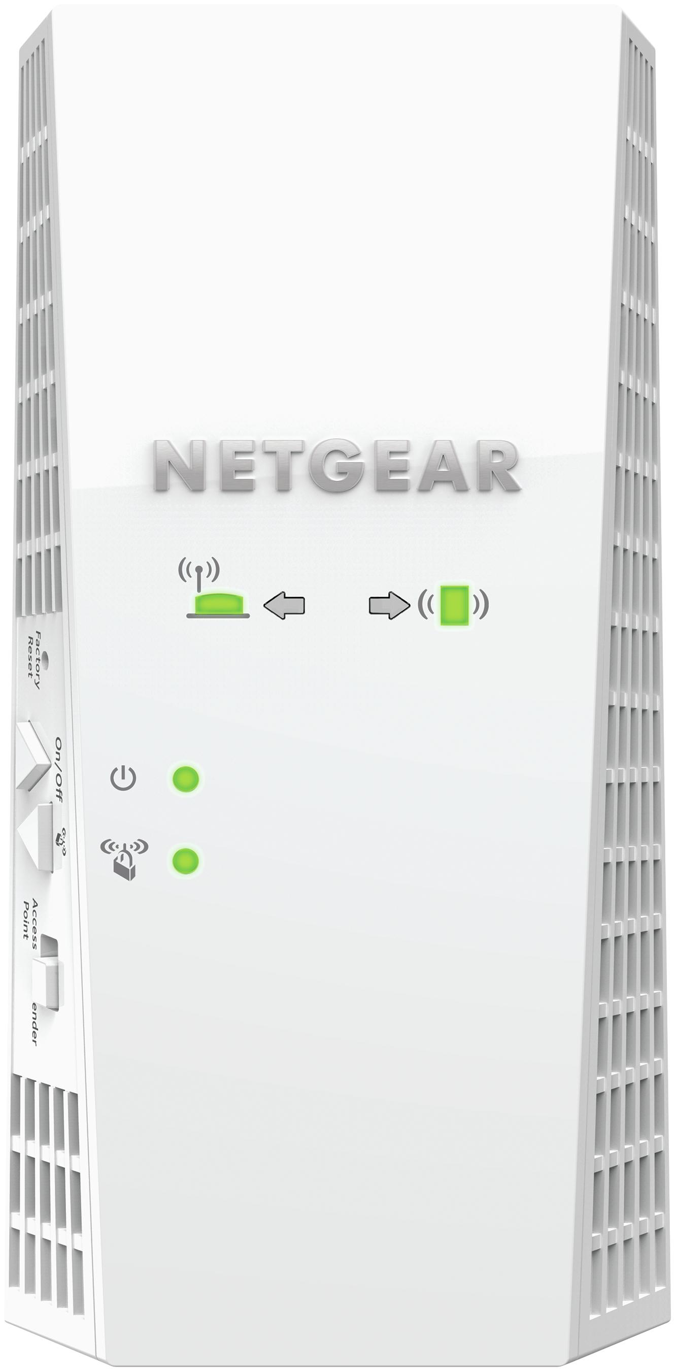 Netgear Nighthawk EX7300 - Wi-Fi-Range-Extender - 10Mb LAN, 100Mb LAN, GigE