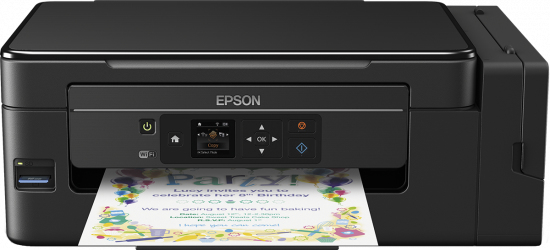Epson EcoTank ET-2650 - Drucker Farbig Tintenstrahldruck - 9,2 ppm
