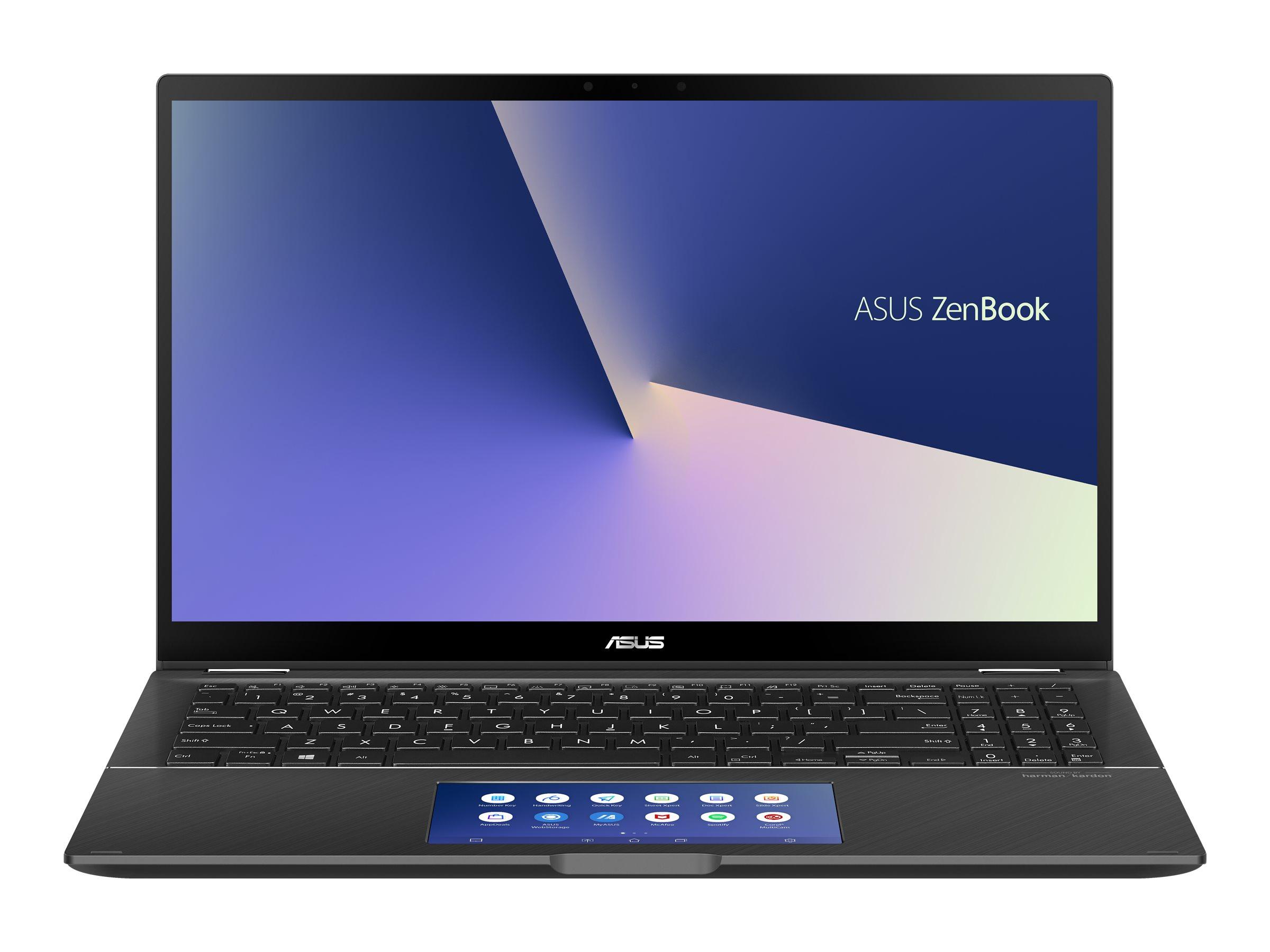 "ASUS ZenBook Flip 15 UX563FD-A1027R - Flip-Design - Core i7 10510U / 1.8 GHz - Win 10 Pro 64-Bit - 16 GB RAM - 1 TB SSD NVMe - 39.6 cm (15.6"")"