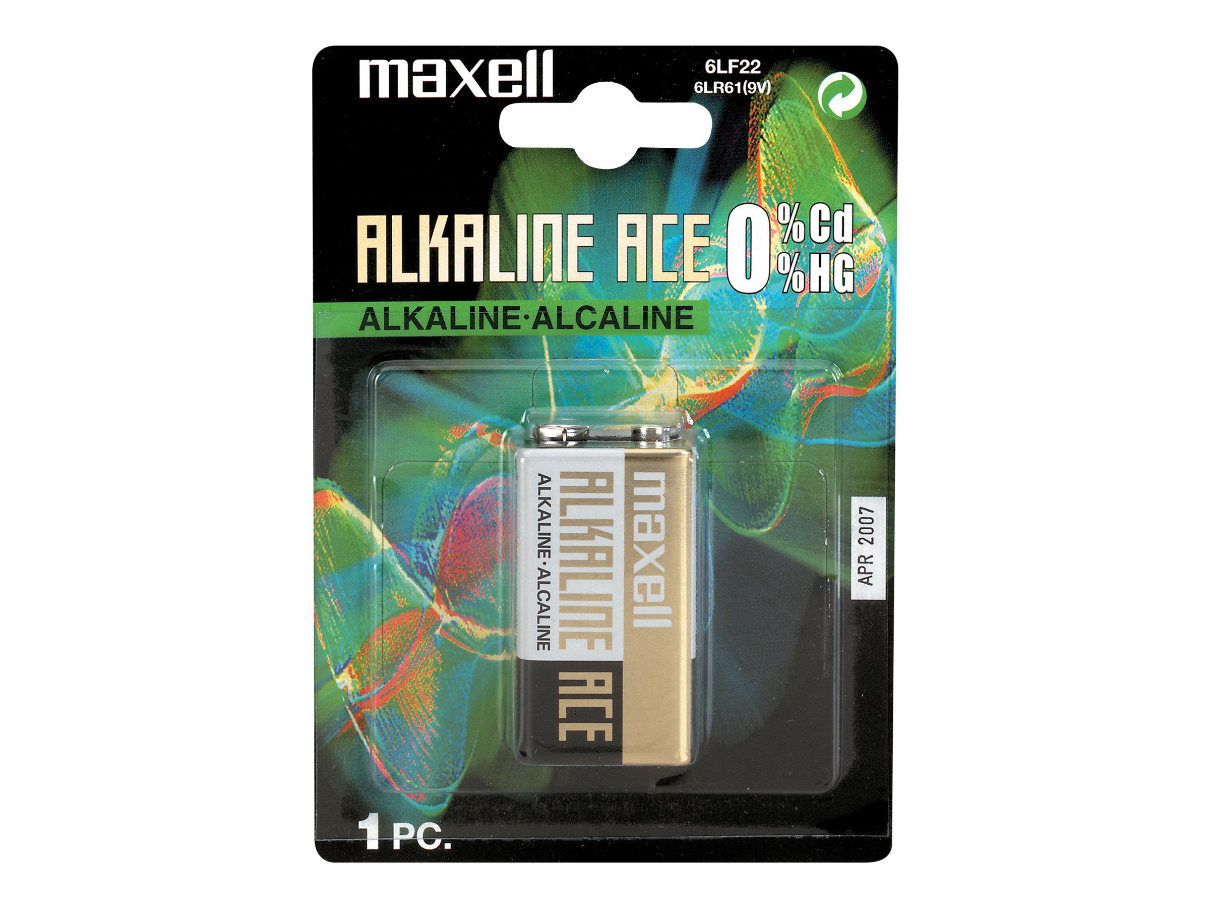 Maxell 6LF 22 - Batterie 9V - Alkalisch