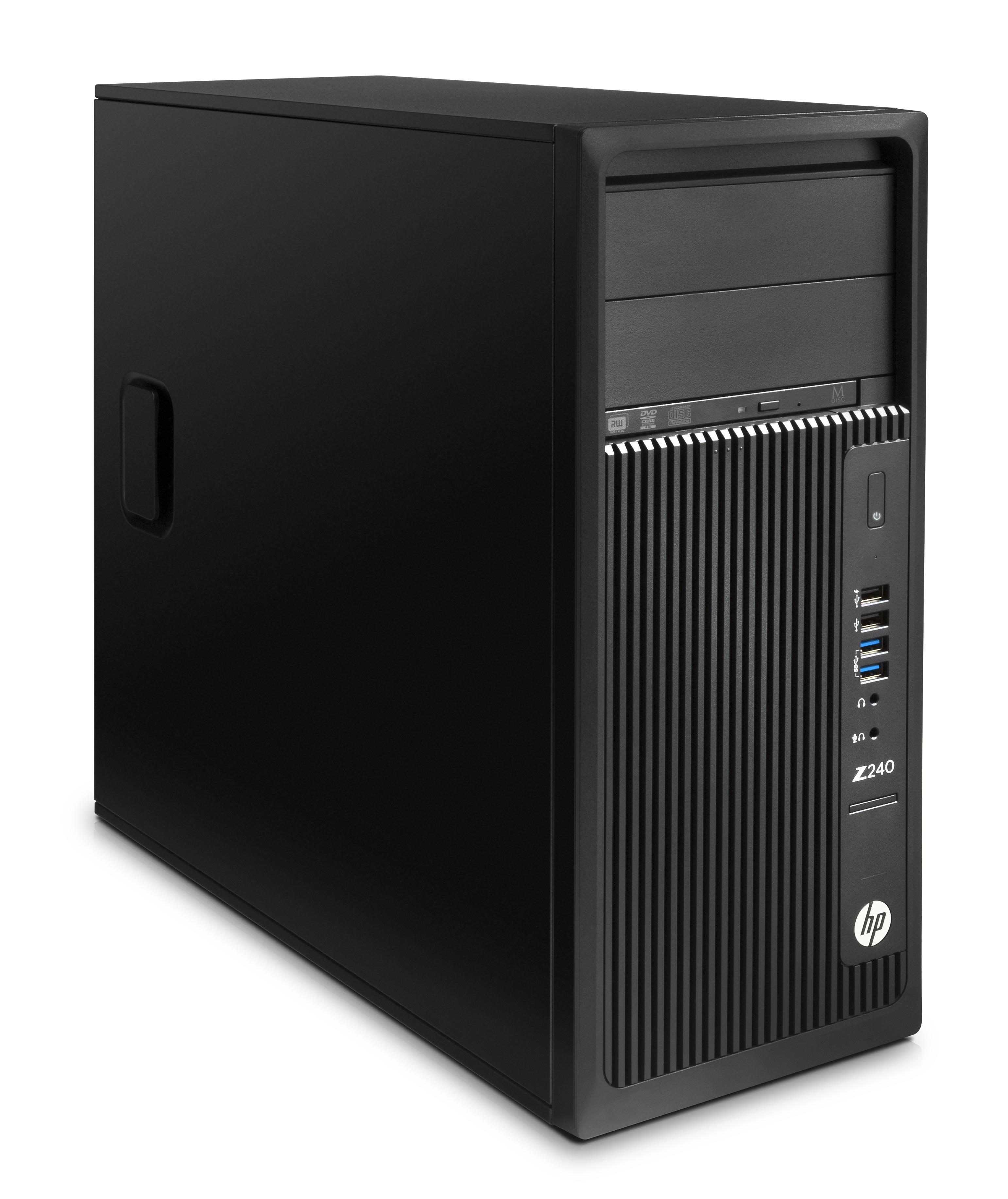 HP Workstation Z240 - Midi Tower