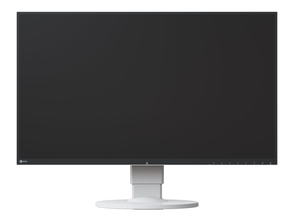 """EIZO FlexScan EV2750-WT - LED-Monitor - 68.5 cm (27"""") 2560 x 1440 - IPS - 350 cd/m² - 1000:1 - 5 ms - HDMI - DVI-D - DisplayPort - Lautsprecher - weiß"""