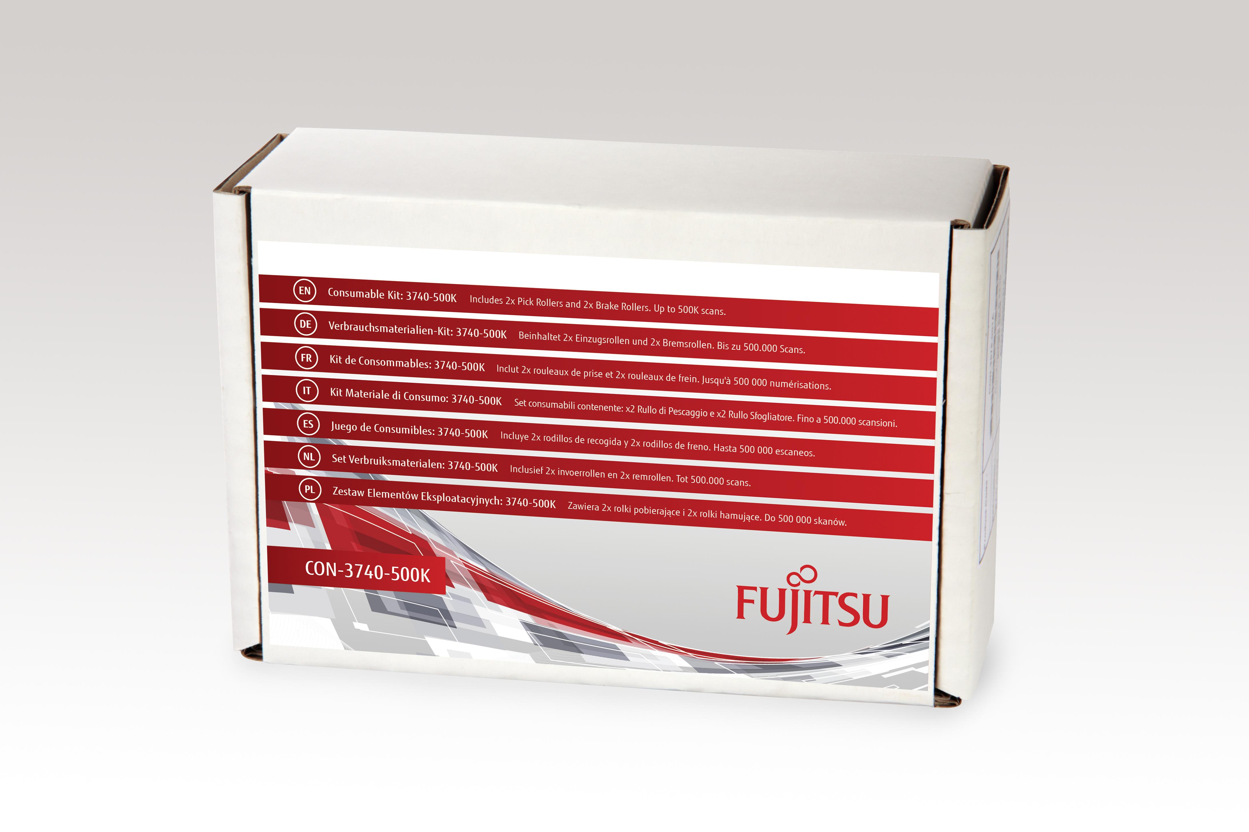 Fujitsu Consumable Kit: 3740-500K - Scanner - Verbrauchsmaterialienkit