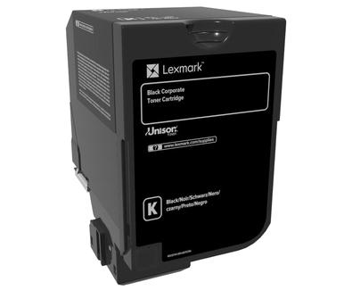 Lexmark 74C20KE Laser cartridge Schwarz Lasertoner / Patrone