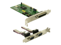 1x Parallel & 2x Serial - PCI card - Adapter Parallel/Seriell