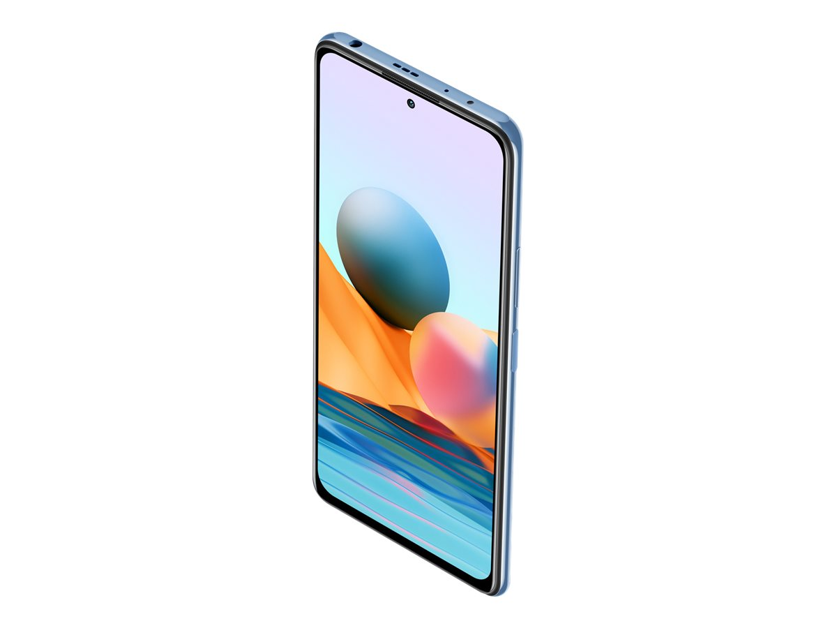 "Xiaomi Redmi Note 10 Pro - Smartphone - Dual-SIM - 4G LTE - 128 GB - 6.67"" - 2400 x 1080 Pixel (395 ppi (Pixel pro Zoll))"