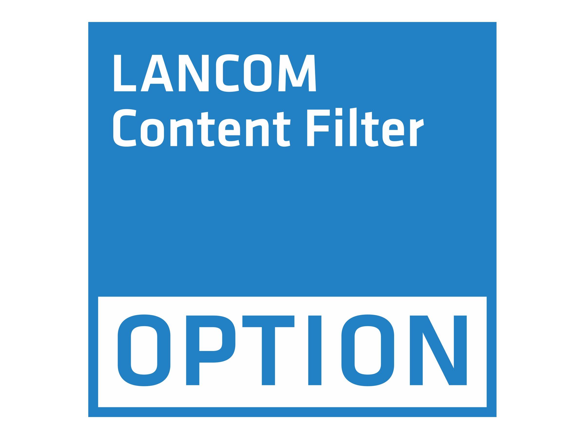 Vorschau: Lancom Content Filter - Abonnement-Lizenz (1 Jahr)