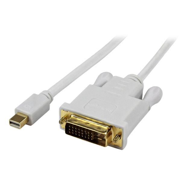 StarTech.com 91cm Mini DisplayPort auf DVI Aktiv Adapter/ Konverter Kabel - mDP zu DVI 1920x1200 - Weiß