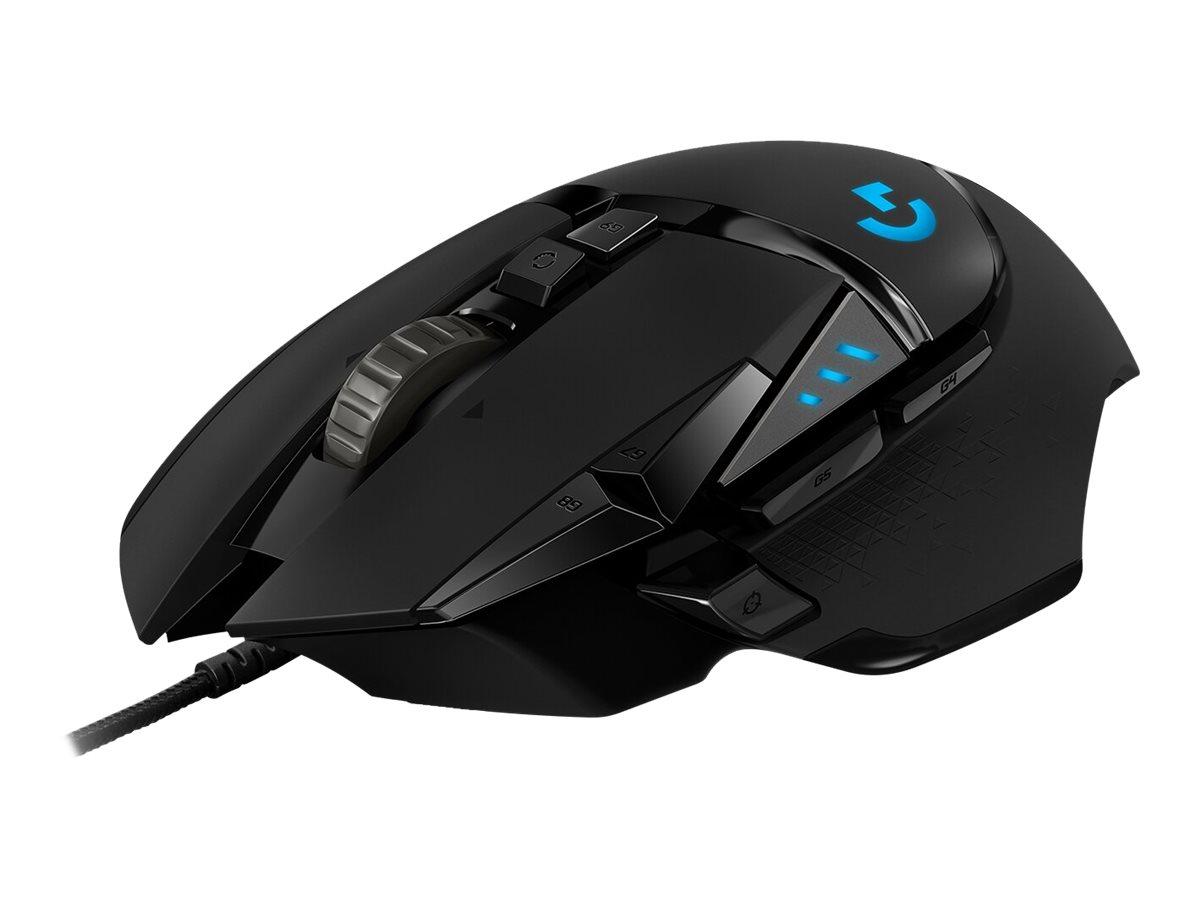 Logitech Gaming Mouse G502 (Hero) - Maus - optisch