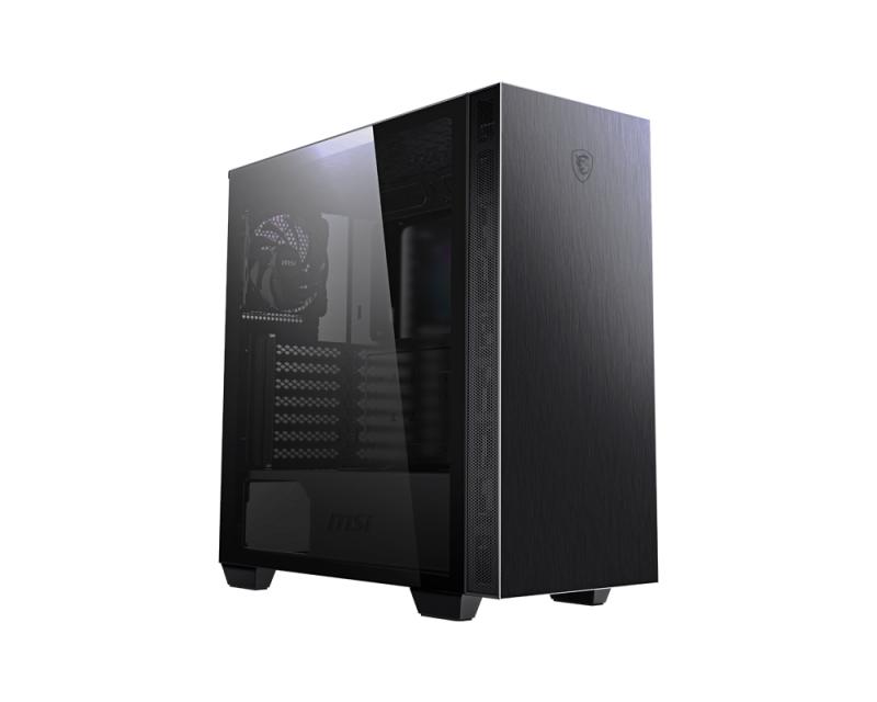 MSI MPG SEKIRA 100P - Midi Tower - PC - Aluminium - Schwarz - ATX,EATX,Mini-ATX,Mini-ITX - 17 cm