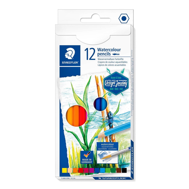 STAEDTLER 14610C C12 - Watercolour - Aquarell - Farbstifte - 12 Stück
