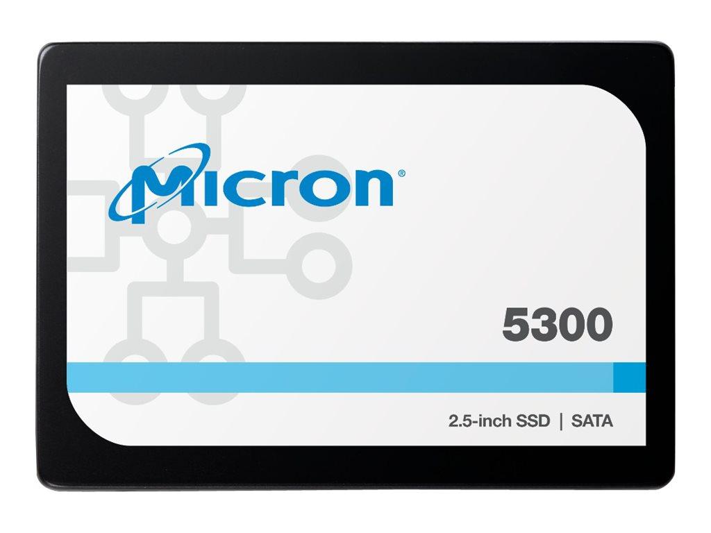 "Micron 5300 MAX - Solid-State-Disk - 3.84 TB - intern - 2.5"" (6.4 cm)"