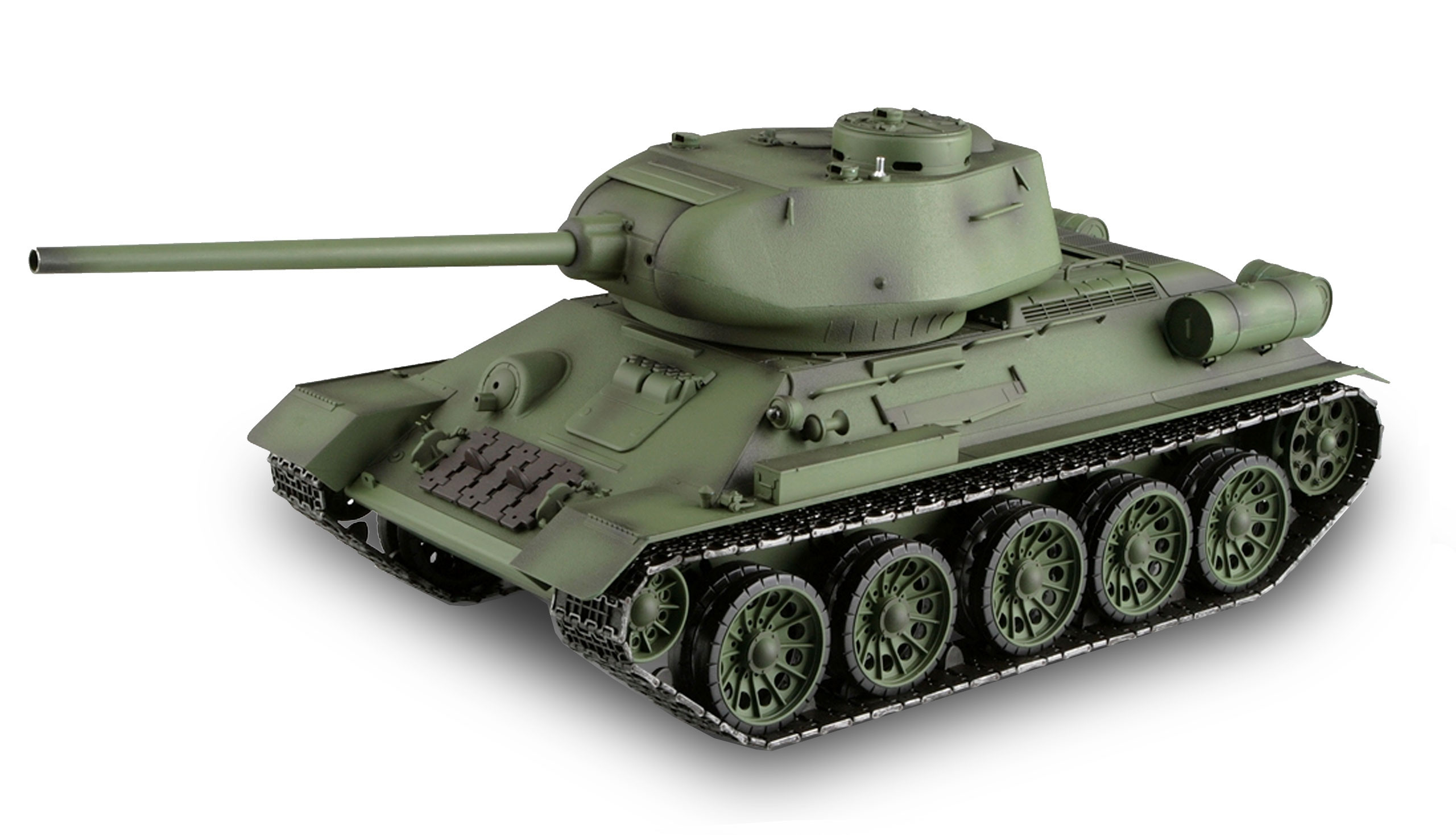 Amewi 23075 - Funkgesteuerter (RC) Panzer - Elektromotor - 1:16 - Betriebsbereit (RTR) - Camouflage
