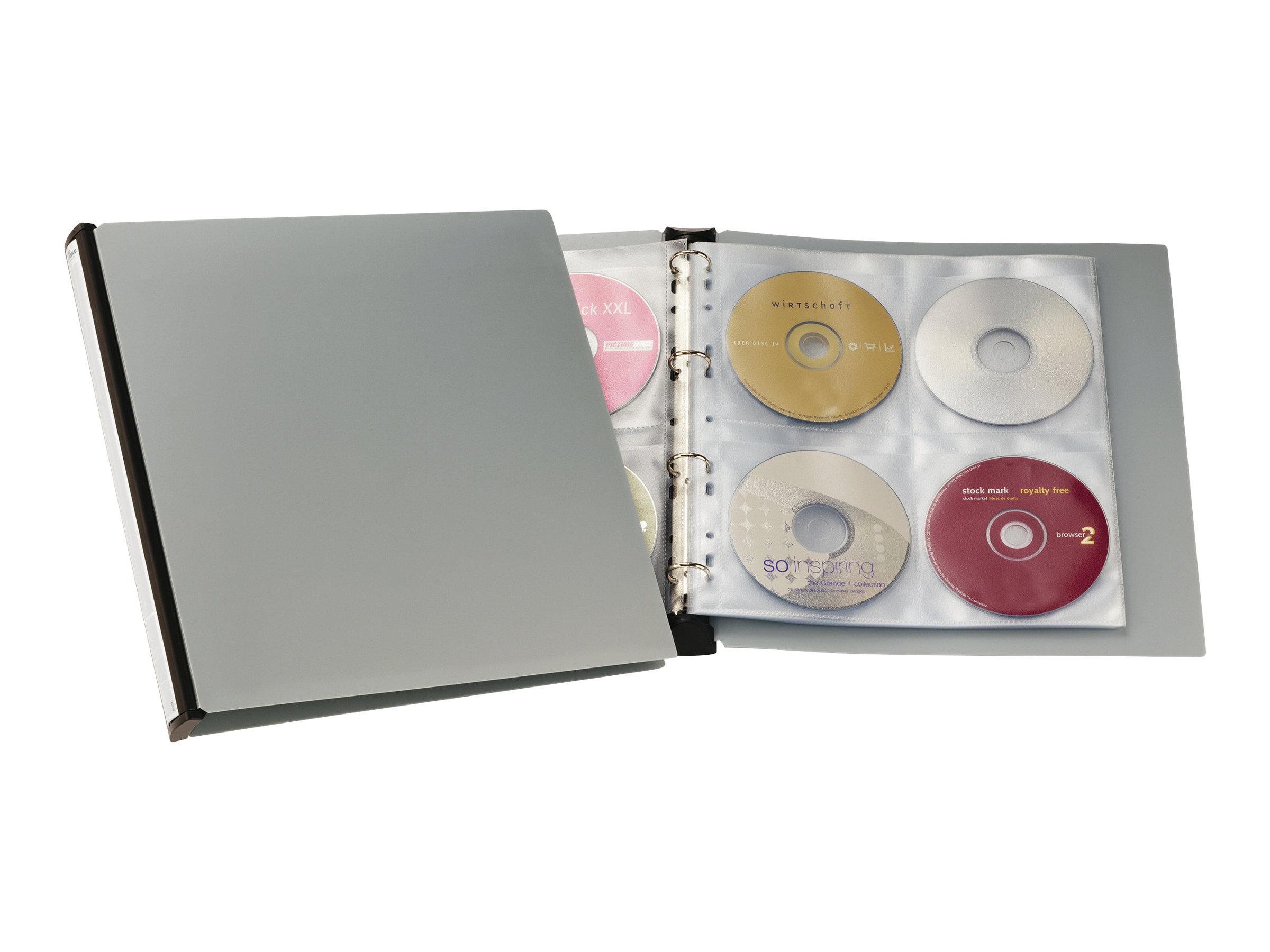 Durable CD/DVD Album 96 - CD/DVD-Ringhefter - Kapazität: 96 CD/DVD