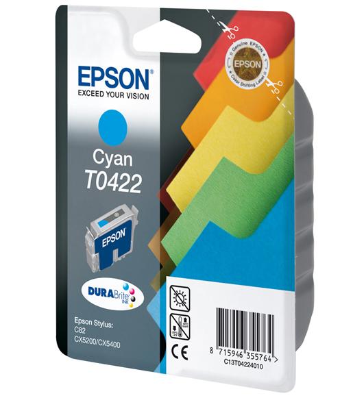 Epson T0422 - Druckerpatrone - 1 x Cyan