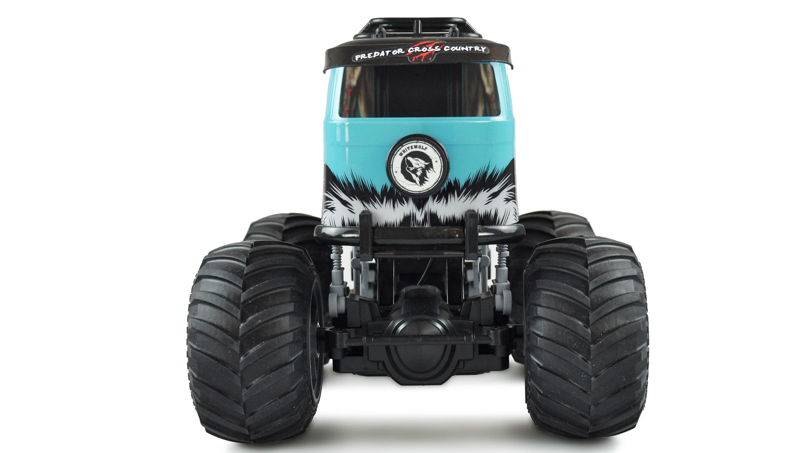 Amewi Crazy Bus - Monstertruck - 1:16 - Junge - 6 Jahr(e) - 700 mAh - 1 kg