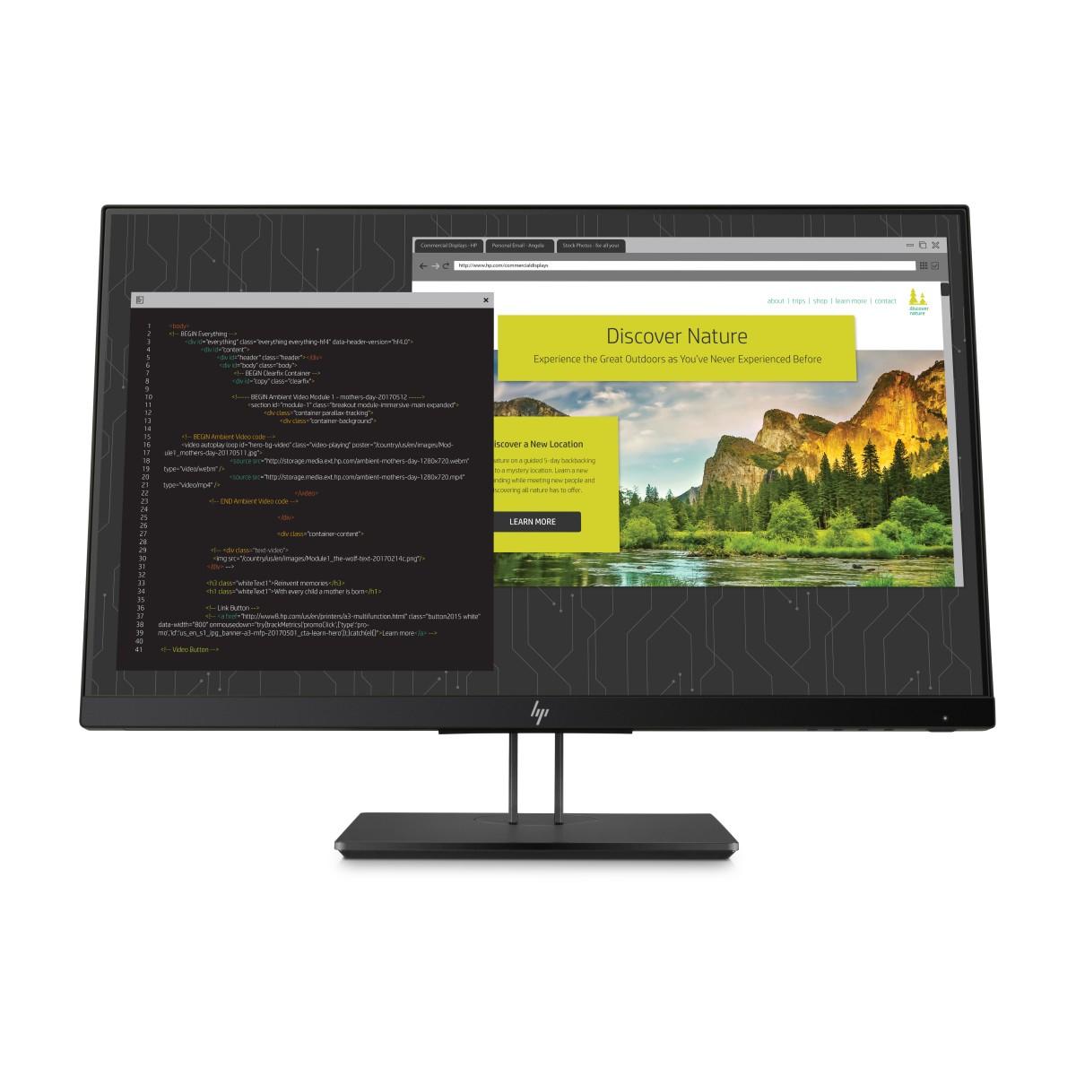 HP Z24nf 23,8-Zoll-IPS-Display mit schmaler Einfassung